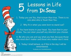 Life lessons from Dr Seuss