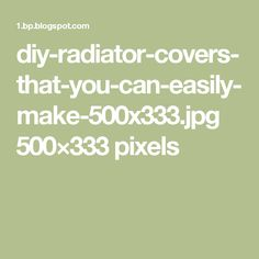 Diy Radiator Cover, Clay Christmas Decorations, Radiators, Projects To Try, Canning, Watercolour, How To Make, Pen And Wash, Watercolor Painting