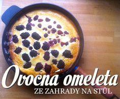 Ovocna omeleta fotka