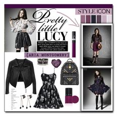 TV Style: Pretty Little Liars by carlavogel on Polyvore featuring polyvore, fashion, style, Linea Pelle, MCM, LVX, NARS Cosmetics, women's clothing, women's fashion, women, female, woman, misses, juniors and pll