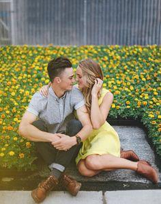 Chad & Taylor Engagement by Tessa Barton