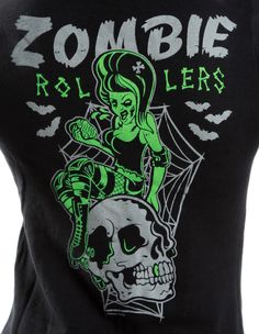 ZOMBIE ROLLERS CARDIGAN in Cardigans & Sweaters at Sourpuss Clothing