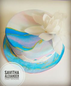 A tribute to Monet by savithalexandercakes