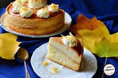 Tort cu crema de zahar ars No Cook Desserts, Kiwi, Caramel, Cheesecake, Sweets, Cooking, Food, Sticky Toffee, Kitchen