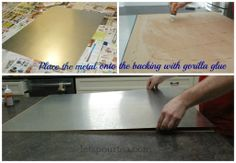 how to make a magnet board instructions