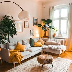 Home Interior Salas .Home Interior Salas Elegant Living Room, Boho Living Room, Modern Living Room Colors, Bohemian Living, Living Room Decor Green, Living Room Vintage, Living Room Yellow Accents, Earthy Living Room, Bright Living Room Decor