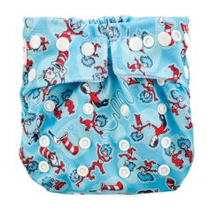 Bumkins Dr. Seuss Snap-In-One One Size Cloth Diaper