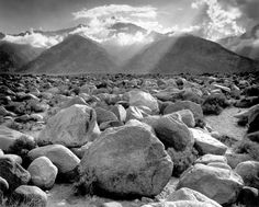 Landscape and Texture of rocks.