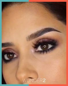 Easily achieve fuller, thicker eyebrows in minutes using our cult-beauty classic - WUNDERBROW! Eyebrow Makeup Tips, Skin Makeup, Eyeshadow Makeup, Makeup Hacks, Perfect Eyebrows Tutorial, Perfect Brows, Beauty Make-up, Asian Beauty, Beautiful Eye Makeup