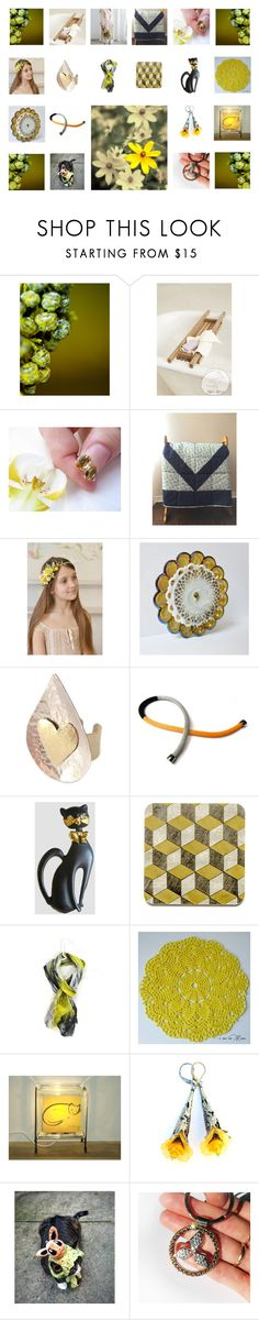 """Things That Make Me Feel Happy"" by jarmgirl on Polyvore featuring Rustico, Progetto, Giallo and vintage"