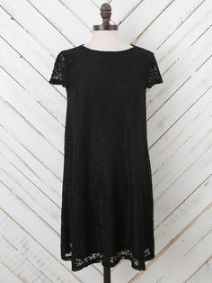 Altar'd State Simple Lace Zip It Up Dress - Dresses - Apparel