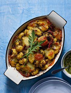 Lehtikaali-gnocchi-vuoka | Kasvis, Pastat ja risotot | Soppa365