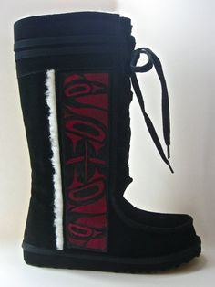 These are pretty cool!!! More native art boots<3