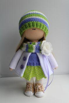 Crochet Doll Pattern, Clay Dolls, Pretty Dolls, Waldorf Dolls, Knitted Dolls, Diy Doll, Fabric Dolls, Christmas Art, Handmade Toys