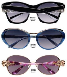The McGee Group launches its @?? ?? Badgley Mischka Eyewear collection targeted to women seeking the glamour of Hollywood translated into modern, wearable styles.