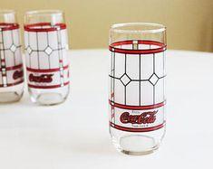 Vintage Coca Cola Tumbler Set of 5