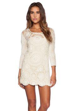 Crochet Dress from Spell.