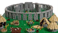 Lego Art: Stonehenge