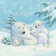3698 Servilleta decorada Navidad