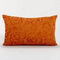 World Market - Rust Dahlia Lumbar Lumbar Throw Pillow, Toss Pillows, Accent Pillows, Decorative Throw Pillows, Bed Pillows, Mismatched Furniture, Orange Pillows, Affordable Home Decor, Bed Throws