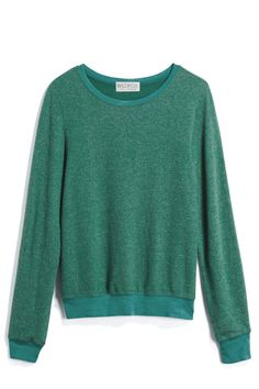 The color is spot on for March; it would be the perfect layering piece. I love the simplicity.