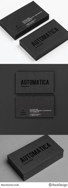 Black is a color that never goes out of style. Stay relevant by selecting our classic and high end black business cards. Made of 28PT thick duplex uncoated cardstock this option is certain to make a bold statement about your business.