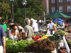 Old Town Farmers' Market in Alexandria, VA