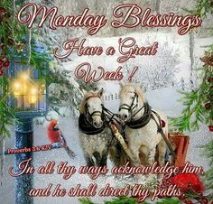 Monday Blessings! Monday Blessings, Christmas Blessings, Morning Blessings, Christmas Quotes, Christmas Greetings, Christmas And New Year, Merry Christmas, Christmas Morning, Christmas 2017