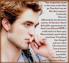 well said Robert Pattinson