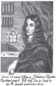 John Heydon (10 September 1629 – c. 1667) was an English Neoplatonist occult philosopher, Rosicrucian, astrologer and attorney.   He attracted attention in royalist and occultist circles for predicting the future, including the death of Oliver Cromwell. Their royalist connections caused both Francis and John Heydon to be imprisoned in the final years of the Commonwealth era. The Restoration of 1660 resolved Heydon's incarceration .