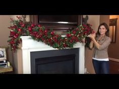 Crafting with Edith Christmas Burlap Mesh Wreath - YouTube