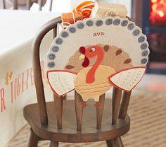 Thanksgiving Turkey Chairbacker | Pottery Barn Kids
