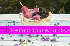 Ten fabulous food on