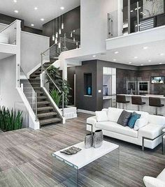 Home Interior Design ** Home Improvement Dos And Don'ts You Need To Know ** Nice of your presence to have dropped by to see the image. Appreciate it. Dream House Interior, Luxury Homes Dream Houses, Dream Home Design, Modern House Design, My Dream Home, Home Interior Design, Interior Architecture, Dream Rooms, Design Case