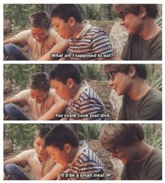 Vern and Teddy.  Stand by Me