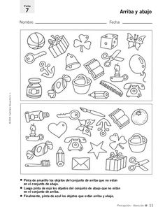 English ESL worksheets for home learning, online practice, distance learning and English classes School Worksheets, Printable Worksheets, Daycare Curriculum, Pediatric Occupational Therapy, Home Learning, School Hacks, Colorful Pictures, Activities For Kids, Classroom