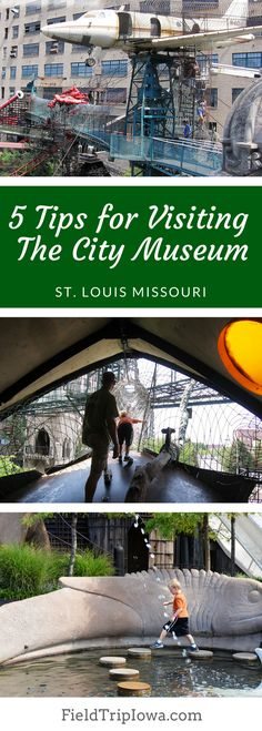 OK - SO here's the deal - for The City Museum in St. Louis, Missouri - KNOWING LESS IS MORE!!! - I am going to limit my review by saying - YOU MUST COME HERE!!!! http://fieldtripiowa.com/city-museum-saint-louis/