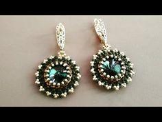 Beaded Earrings, Beaded Jewelry, Beaded Bracelets, Drop Earrings, Make Your Own Jewelry, Beautiful Earrings, Beaded Embroidery, Beading Patterns, Jewerly