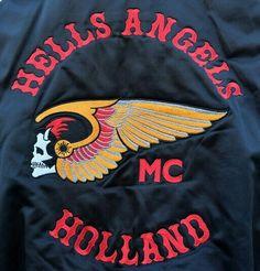 HAMC◾HOLLAND Hells Angels, Holland, Jackets, The Netherlands, Netherlands, Jacket, Suit Jackets, Cropped Jackets