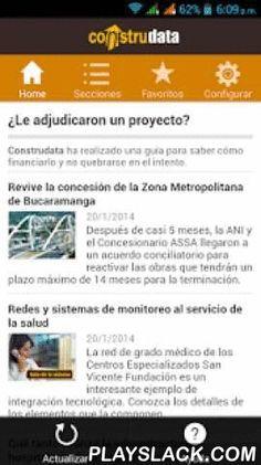 ConstruData  Android App - playslack.com ,  Viva la experiencia Construdata, ahora disponible en Android, entérese de las novedades del sector constructor en Colombia, manténgase actualizado con las últimas oportunidades de negocio, aprenda de los expertos cómo blindar su presupuesto y conozca el detrás de cámaras de los proyectos arquitectónicos y de infraestructura icónicos en el país. Con más de 30 años ofreciendo la mejor información para presupuestar, licitar y estudiar la coyuntura del…