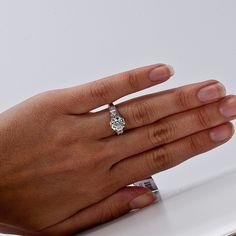 1.50ct Art Deco Style Diamond Platinum Engagement Ring  Sku#: 386626-CK3661902