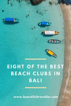 8 Of The Best Beach Clubs In Bali