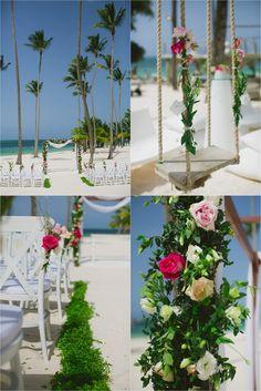jellyfish beach wedding   http://katyanovablog.com/royalton-jellyfish-punta-cana-wedding-meghan-taylor/