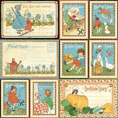 Storytime-from Mother Goose Graphic 45