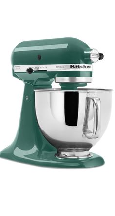This gorgeous KitchenAid stand mixer is a perfect winter color.