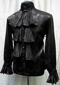 Bavaria Jacket by Shrine Clothing Goth Steampunk Mens Jackets