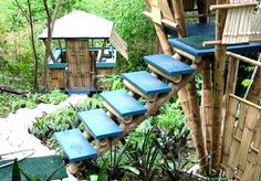Bamboo Tree House, Rincon, Puerto Rico. I would love to stay in one of these!