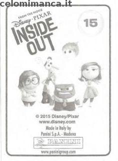Inside Out: Retro Figurina n. 15 -