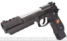 Pre-Order Estimated Arrival: 12/2012 --- WE-Tech Barry Burton Custom Biohazard M9 Limited Edition Airsoft Gas Blowback Pistol - Full Auto