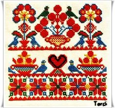 Thrilling Designing Your Own Cross Stitch Embroidery Patterns Ideas. Exhilarating Designing Your Own Cross Stitch Embroidery Patterns Ideas. Hungarian Embroidery, Folk Embroidery, Learn Embroidery, Cross Stitch Embroidery, Embroidery Patterns, Beginner Embroidery, Floral Embroidery, Cross Stitch Borders, Cross Stitch Patterns